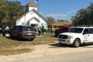 Tiroteo en iglesia de Texas deja numerososmuertos y heridos