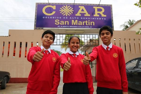 Escolares COAR San Martín a Olimpiada Internacional