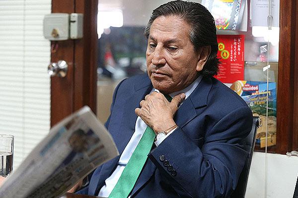 Poder Judicial evalúa solicitud de extradición de Toledo