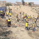 Arequipa: Alrededor de 100 presos pagan sus penas con trabajo comunitario