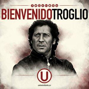 Universitario: Pedro Troglio es el nuevo DT de los 'cremas'