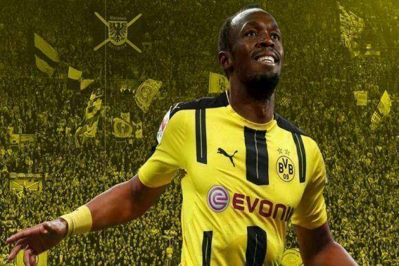 Usain Bolt se probará en el Borussia Dortmund
