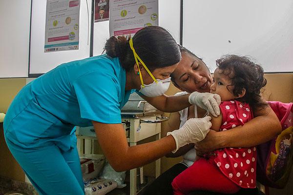 Distribuyen 21,543 vacunas contra varicela en 5 regiones