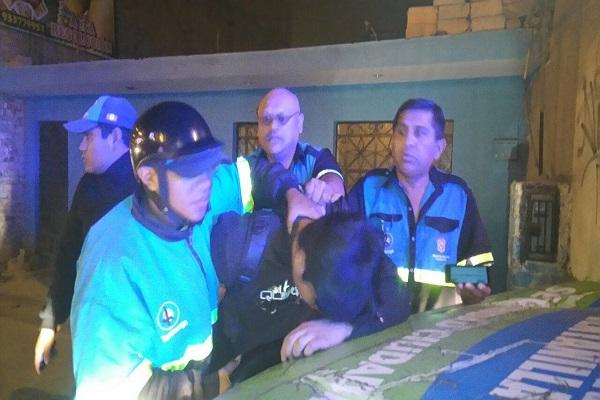 Serenos de Ventanilla y policías capturan a varios delincuentes