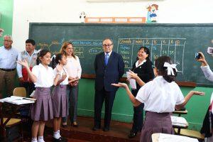Idel Vexler anuncia Evaluación Censal de Estudiantes