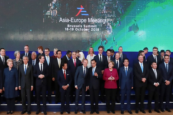 Europa y Asia se acercan