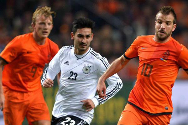 Holanda ante Alemania en Ámsterdam desde las 1:45 P.M.