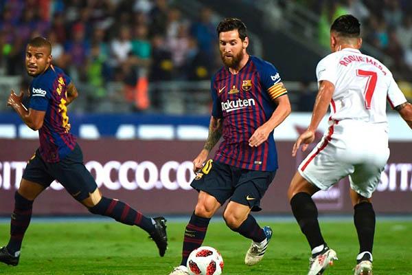 Barcelona recibe al Sevilla en el Camp Nou