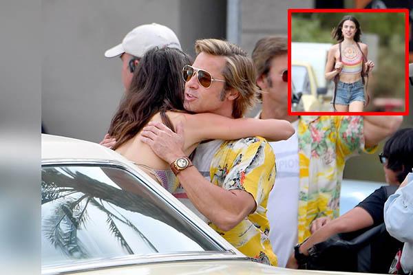 Brad Pitt es ampayado con actriz de tan solo 23 años