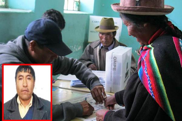 Encarcelan vándalo por alterar elecciones en Puno