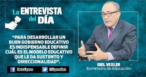 """Idel Vexler: """"Aumento de maestros hasta una UIT no tiene viabilidad financiera"""""""