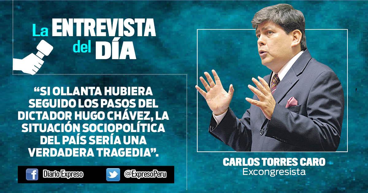 "Carlos Torres Caro: ""Gobiernos débiles facilitan reaparición de antisistemas"""