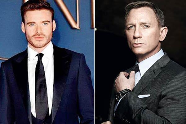 Daniel Craig dejará el legado de James Bond a Richard Madden