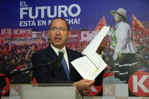 José Chlimper renunció a la secretaría general de Fuerza Popular
