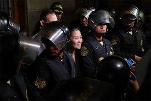 "Keiko Fujimori: ""Salgo agradecida a pesar de la injusticia"""