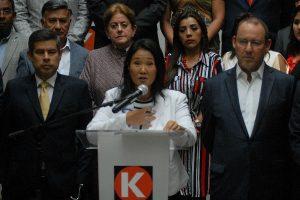 Keiko Fujimori anuncia reestructuración en Fuerza Popular