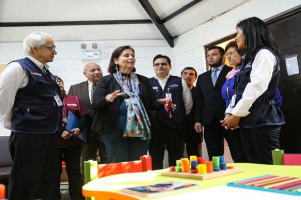 """Gamarra: Inauguran Centro de Salud Mental Comunitario """"La Victoria"""""""