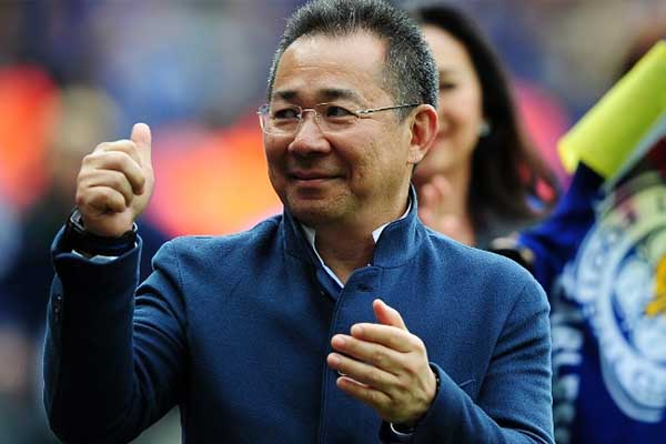 Leicester City confirma el fallecimiento del presidente del club tras accidente aéreo