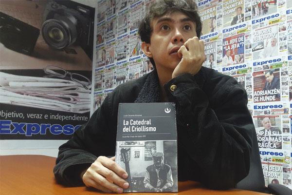 Luis Cáceres: «El criollismo no está muriendo» [VÍDEO]