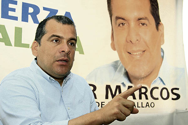 """Omar Marcos: """"Seré el líder que se necesita para defender a los chalacos"""""""