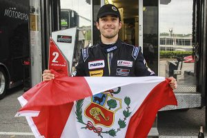 Rodrigo Pflucker corre este viernes la última fecha del IMSA Prototype Challenge