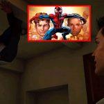 Peter Parker y Miles Morales en un nuevo universo