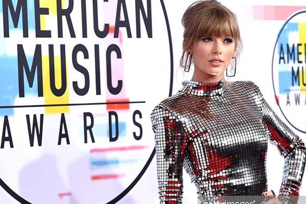 Taylor Swift: Reina de los AMA