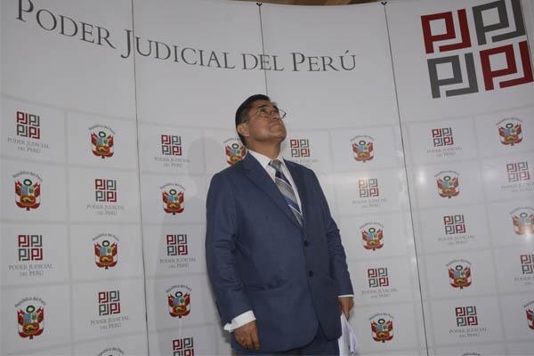 César Hinostroza: PJ evalúa mañana pedido de prisión preventiva en su contra