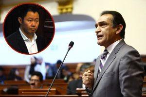 Héctor Becerril insta a Kenji Fujimori que se sume a la marcha a favor de su hermana