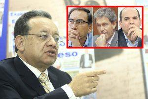 Vizcarra, Thorne y Zavala presionaron a contralor Edgar Alarcón
