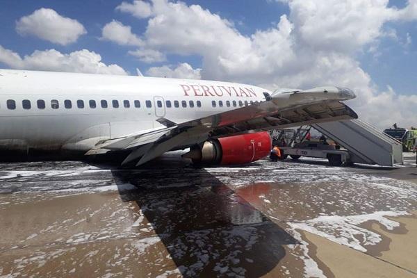 Peruvian Airlines: MTC informa que pasajeros y tripulantes están ilesos