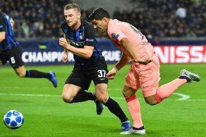 Champions League: Inter de Milan y Barcelona sin Messi igualaron