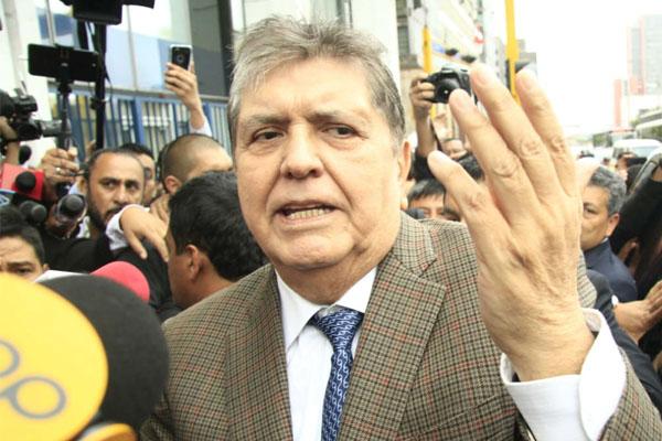 """Alan García: """"Las investigaciones deben hacerse sin odios ni humillación"""""""