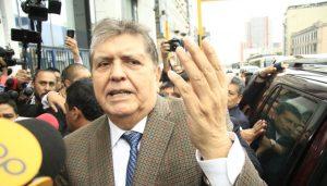 """Alan García: """"Los equipos de 'chuponeo' fueron comprados en el gobierno de Humala"""""""