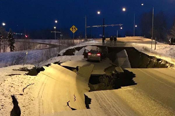 Terremoto en Alaska de magnitud 7 [VÍDEO]