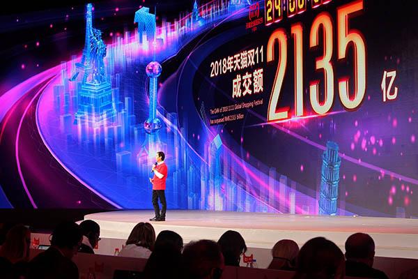 Alibaba vende 30.802 millones de dólares