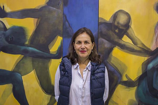 """Carla Palma: """"La pintura es una poesía con lenguaje propio"""""""