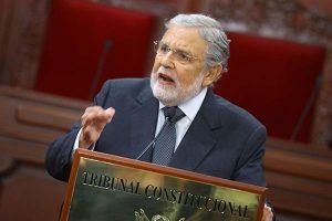 """Ernesto Blume: El Congreso """"no puedemodificar una competencia de otro poder del Estado"""""""