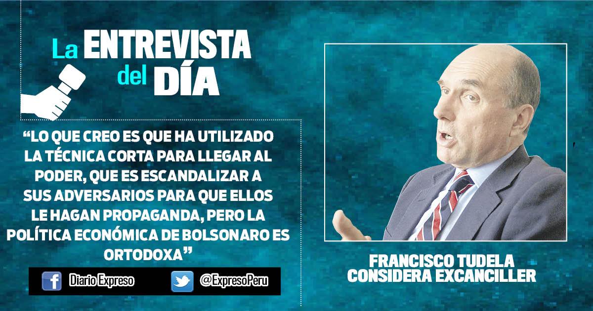 """Francisco Tudela: """"Procesos judiciales son selectivos en el Perú"""""""