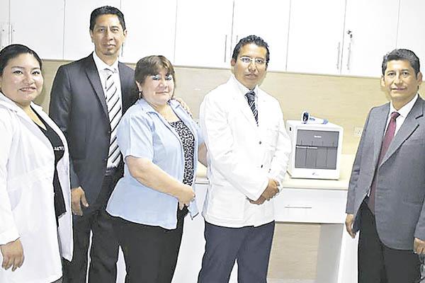 Inauguran área de inmunología especial
