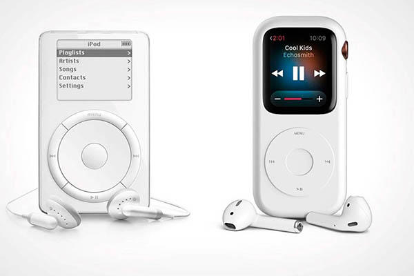 ¿Apple Watch se transforma en IPOD con cambio de carcasa?