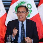 Martín Vizcarra: Aprobación del presidente sube a 65 %