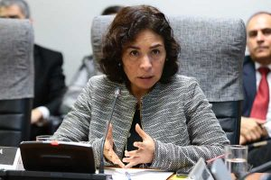 Patricia Balbuena renuncia a su cargo como titular del Ministerio de Cultura