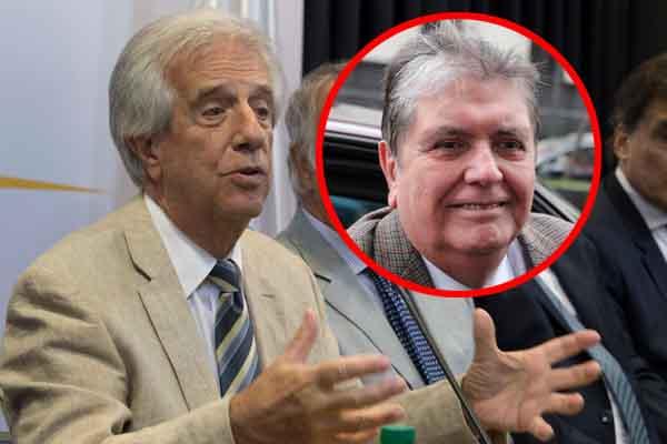 Tabaré Vázquez: Pedido de asilo para Alan García lo resolveremos en «el tiempo que sea necesario»
