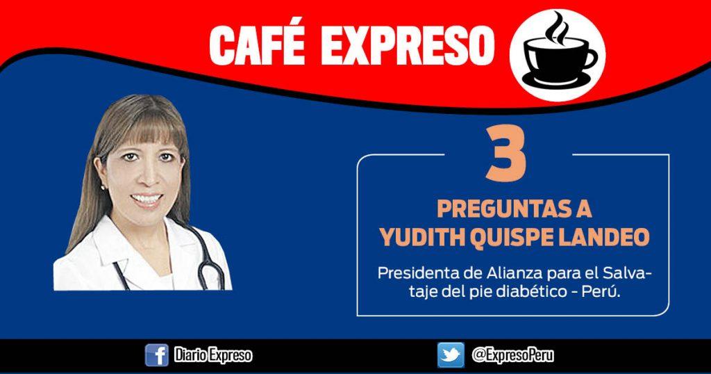 """Yudith Quispe Landeo: """"Cada 20 segundos se amputa una pierna por diabetes"""""""