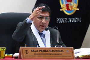 Juez Concepcion Carhuancho: Jamás me he comunicado con Edwin Oviedo