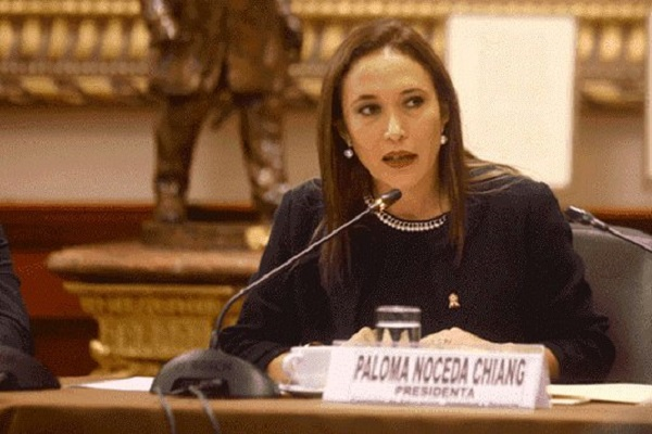 Paloma Noceda denuncia a Luis López Vilela por tocamientos indebidos