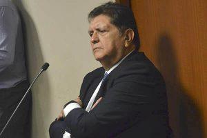 """Alan García: """"Estaré en mi domicilio a disposición de todas las investigaciones"""""""