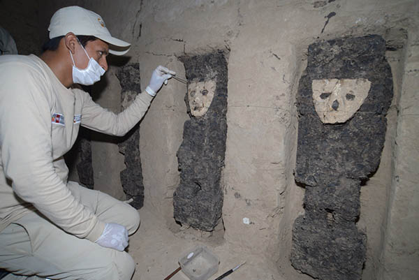 Destacan hallazgo de ídolos de Chan Chan