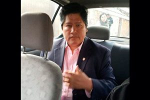 Confirman incautación de documentos a Edwin Oviedo